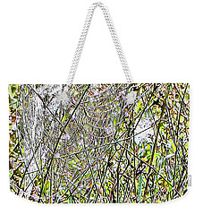 Weekender Tote Bag featuring the photograph Cobweb Study 5 by Dorothy Berry-Lound