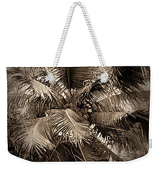 Coconut Palm Abstract Weekender Tote Bag