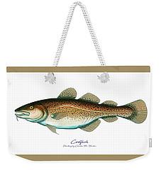 Codfish Weekender Tote Bag