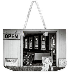Weekender Tote Bag featuring the photograph Cold Drinks by Steve Stanger