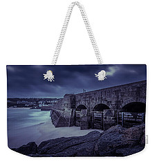 Cold Mood On The Pier Weekender Tote Bag