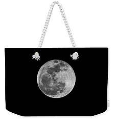 Full Cold Moon Weekender Tote Bag