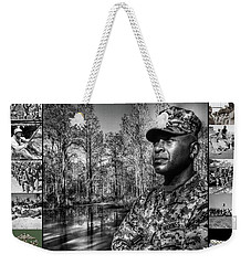 Colonel Trimble Collage Weekender Tote Bag