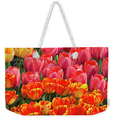 Color Burst Weekender Tote Bag