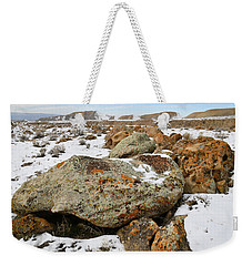 Color In The Book Cliff Desert Weekender Tote Bag