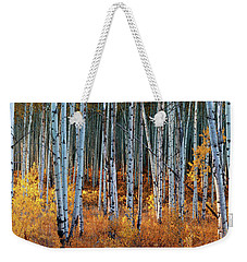Colorado Autumn Wonder Panorama Weekender Tote Bag