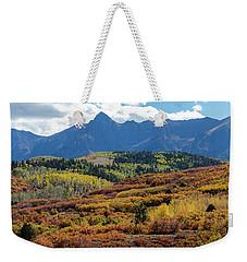 Weekender Tote Bag featuring the photograph Colorado Color Bonanza by James BO Insogna