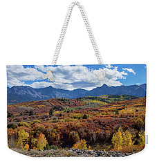 Weekender Tote Bag featuring the photograph Colorado Color Lalapalooza by James BO Insogna