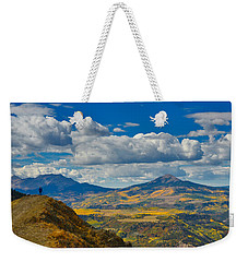 Colorado Fall Weekender Tote Bag