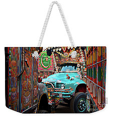 Truck Art Weekender Tote Bag
