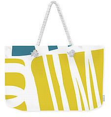 Weekender Tote Bag featuring the digital art Colorful Bento 1- Art By Linda Woods by Linda Woods