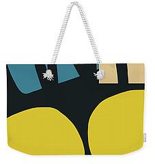 Weekender Tote Bag featuring the digital art Colorful Bento 5- Art By Linda Woods by Linda Woods