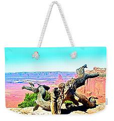 Colorful Desert Landscape Weekender Tote Bag