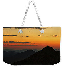 Evening At Mount Evans Weekender Tote Bag