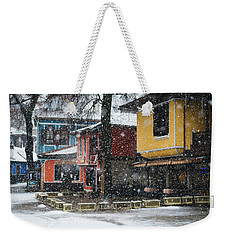 Colorful Koprivshtica Houses In Winter Weekender Tote Bag