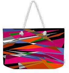 Colorful Reaction Weekender Tote Bag