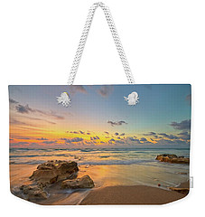 Colorful Seascape Weekender Tote Bag