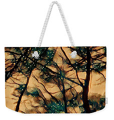 Weekender Tote Bag featuring the digital art  Colors And Spirit  by Lucia Sirna