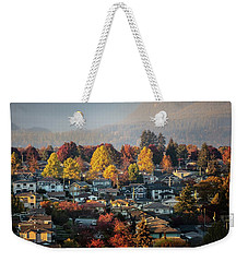 Colours Of Autumn Weekender Tote Bag