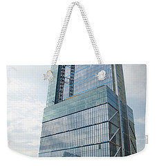 Weekender Tote Bag featuring the photograph Comcast Technology Center - Philadelphia by Bill Cannon