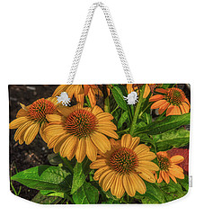 Weekender Tote Bag featuring the photograph Coneflowers  by Guy Whiteley