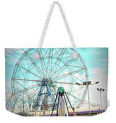 Coney Island Wonder Wheel Ny Weekender Tote Bag