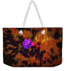 Weekender Tote Bag featuring the digital art Confrey A #h9 by Leif Sohlman