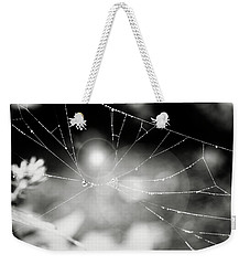 Weekender Tote Bag featuring the photograph Connected by Sue Collura