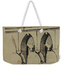 Corbel Table - Benieves, France Weekender Tote Bag