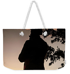 Corby At Sunset Weekender Tote Bag