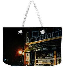 Corner Light Weekender Tote Bag