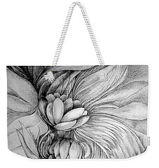 Weekender Tote Bag featuring the drawing Cornucopia by Rosanne Licciardi
