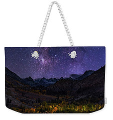 Weekender Tote Bag featuring the photograph Cosmic Nature by Tassanee Angiolillo
