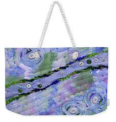 Cosmic Stream Weekender Tote Bag