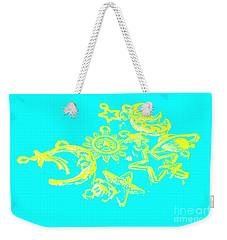 Cosmos Caricatures Weekender Tote Bag