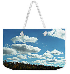 Country Autumn Curves 12 Weekender Tote Bag