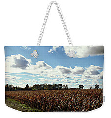 Country Autumn Curves 2 Weekender Tote Bag