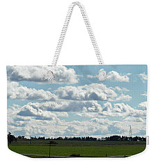 Country Autumn Curves 4 Weekender Tote Bag