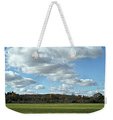 Country Autumn Curves 6 Weekender Tote Bag