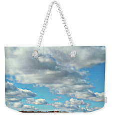Country Autumn Curves 7 Weekender Tote Bag