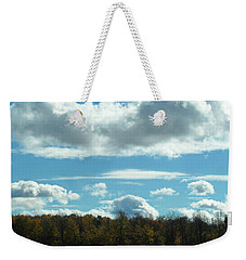 Country Autumn Curves 8 Weekender Tote Bag