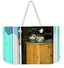 Weekender Tote Bag featuring the photograph Country Store by Tatiana Travelways