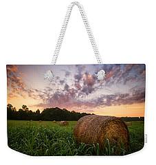 Country Sunrise Weekender Tote Bag