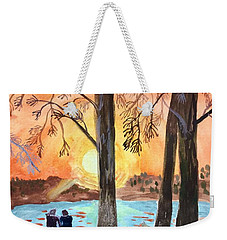 Couple Under Tree Weekender Tote Bag