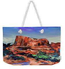 Courthouse Butte Rock - Sedona Weekender Tote Bag