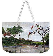 Cow Haven Weekender Tote Bag
