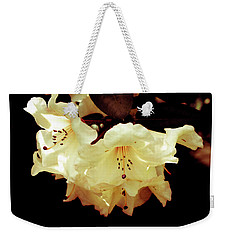 Creamy Rhododendron Weekender Tote Bag