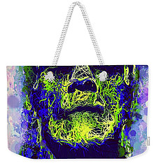 Frankenstein Watercolor Weekender Tote Bag