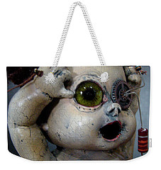 Creepy Edison Weekender Tote Bag
