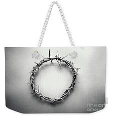 Crown Of Thorns In Black And White  Weekender Tote Bag